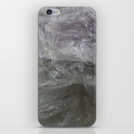 foil cloud wrinkle structured surface iPhone Skin