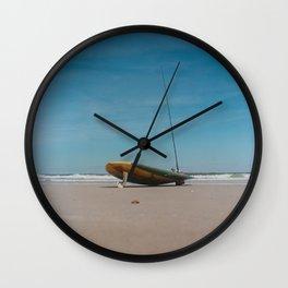Surf Board Wall Clock