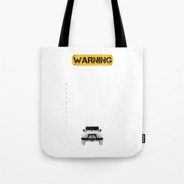 Warning Dirt Vehicle Rules Wrangler Lovers Tote Bag