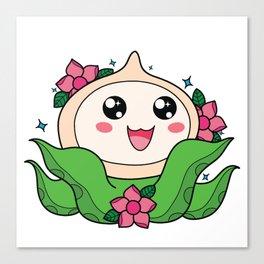 Happy Little Tentacles! Canvas Print