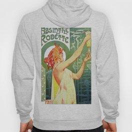 Absinthe Robette Art Nouveau Hoody