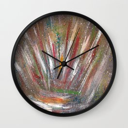 Cosmic space 437 Wall Clock
