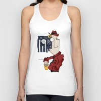 drink Tank Tops featuring DRINK by Ivano Nazeri