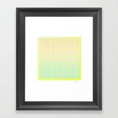 Pattern 1 Framed Art Print