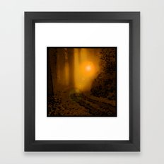 The Forest (4:33am) Framed Art Print