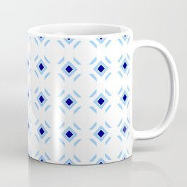 Symmetric patterns 148 blue Coffee Mug