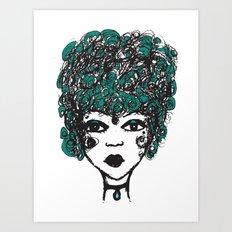 Annabella Art Print