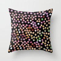 polka dots Throw Pillows featuring Polka Dots by Take F1ve