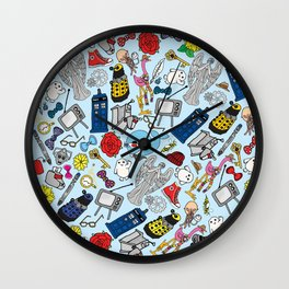 Lord of Time Megamix Blue Wall Clock