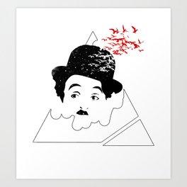 Chaplin Conspiracy Art Print