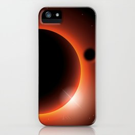 space landscape iPhone Case