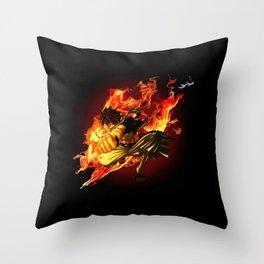 The Dragon Slayer Throw Pillow
