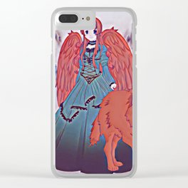 Wolf Princess Scarlet Clear iPhone Case