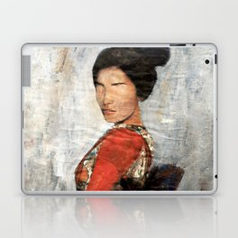 Geisha/Newspaper Serie Laptop & iPad Skin