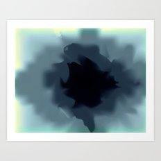 Unfurled Ink Art Print