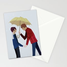 Yellow Umbrella Stationery Cards
