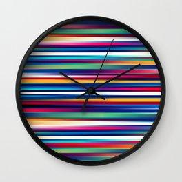 Blurry Lines Wall Clock