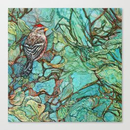The Aquamarine Labyrinth (detail no. 3) Canvas Print