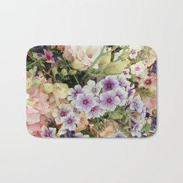 Vibrant Bouquet Bath Mat