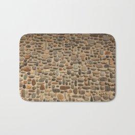 Mosaic Pebble Wall Bath Mat