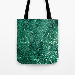 Sparkling EMERALD Lady Glitter #1 #shiny #decor #art #society6 Tote Bag