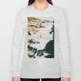 Solo Traveler || #illustration #travel Long Sleeve T-shirt