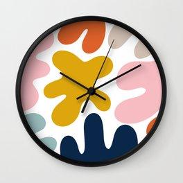 Blob Collage - Multi Wall Clock