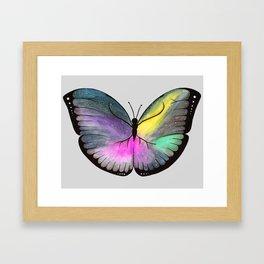 Space Butterfly Framed Art Print