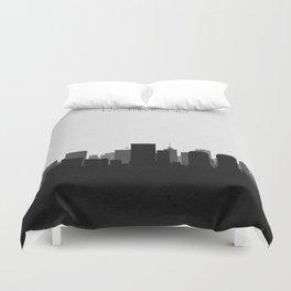City Skylines: Richmond Duvet Cover