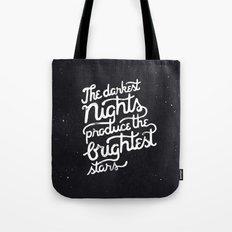 Darkest Nights Tote Bag