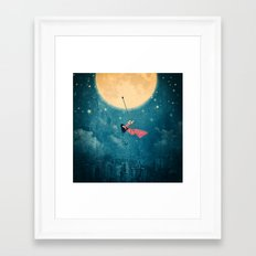 While the city sleeps... Framed Art Print