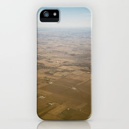 open fields iPhone Case