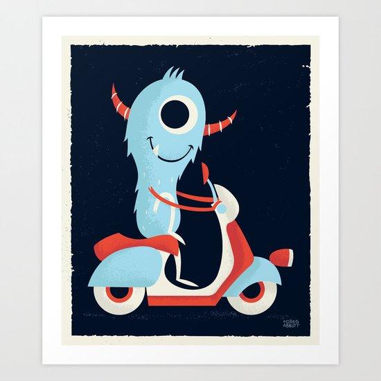 Get Around Art Print
