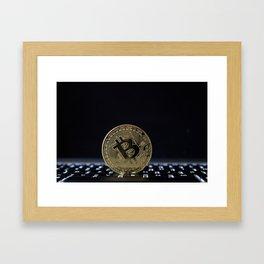The Mighty Bitcoin Framed Art Print