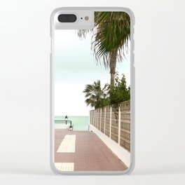 Road to the Beach - Landscape Photography Clear iPhone Case