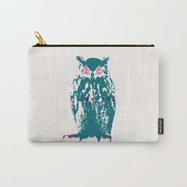 I see You (Lost Time Owl) Carry-All Pouch