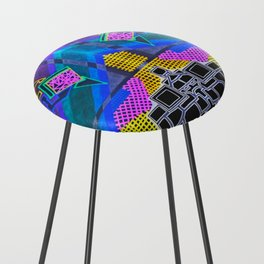 Abstract 2B Counter Stool