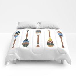 Painted Oars Comforters