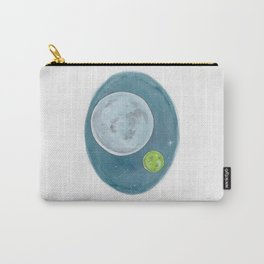 Watercolor Illustration of Haruki Murakami's novel 1Q84 Carry-All Pouch