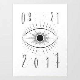 Total Eclipse Art Print