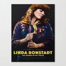 Linda Ronstadt The Sound of My Voice Movie Art Canvas Silk Poster  Canvas Print