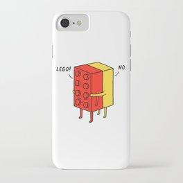 I'll Never Le Go iPhone Case