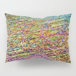 Electric Fence Pillow Sham