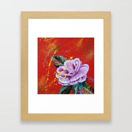 The Scent Of Her Perfume Framed Art Print