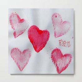 LOVE-ly Hearts Metal Print
