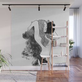 The courage of deeply love. Wall Mural