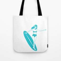 Wave Abduction Tote Bag