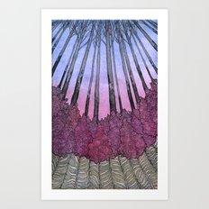 Fireweeds Art Print