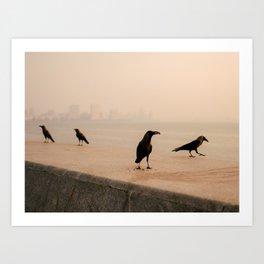 Mumbai Birds Art Print