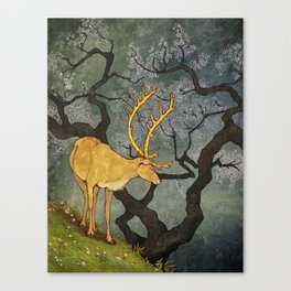 The Ceryneian Hind Canvas Print